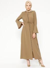 Camel - Unlined - Abaya