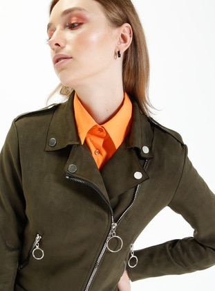 Khaki - Unlined - Jacket