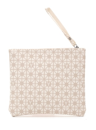 Minc - Cream - Clutch Bags / Handbags