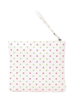 Red - White - Clutch Bags / Handbags