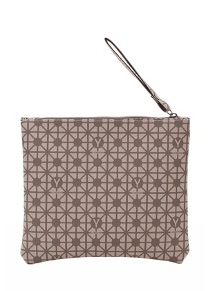 Brown - Minc - Clutch Bags / Handbags