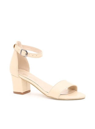 Beige – Casual – Heels – Y-London