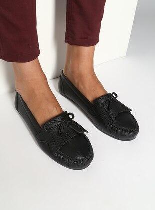 Black – Flat – Casual – Shoes – Bambi