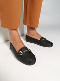 Black - Flat - Casual - Shoes