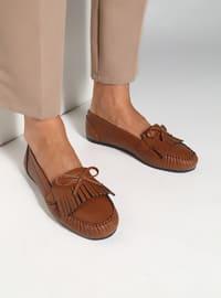 Tan - Flat - Casual - Shoes