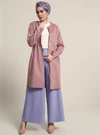 Powder - Unlined - Crew neck - Trench Coat
