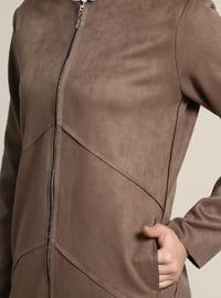 Minc - Unlined - Crew neck - Trench Coat