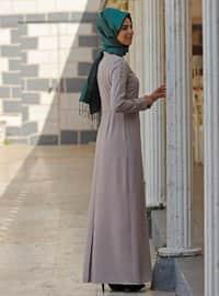 Beige - Unlined - Dresses
