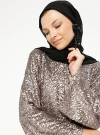 Minc - Unlined - Crew neck - Abaya