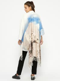 Camel - Multi - Unlined - Poncho