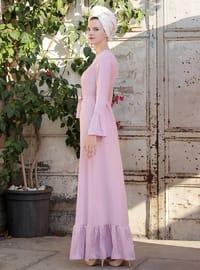 Lilac - Crew neck - Lilac - Crew neck - Lilac - Crew neck - Dresses