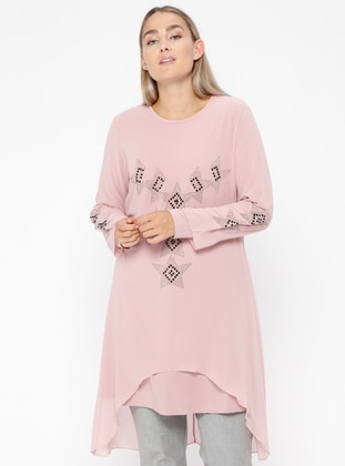Powder - Crew neck - Plus Size Tunic