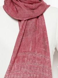 Fuchsia - Printed - Shawl