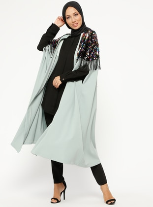 Mint - Unlined - Poncho