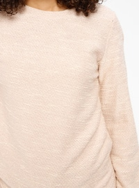 Pink - Crew neck - Tracksuit Top