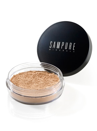 Mineral Doğal Sabitleyici Pudra – Golden 03 - Sampure Minerals Ürün Resmi