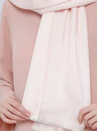 Powder - Plain - %100 Silk - Shawl