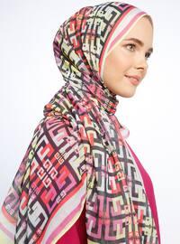 Multi - Printed - Marbella Shawl