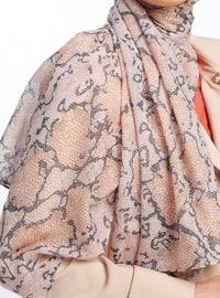 Multi - Printed - Shawl - Şal