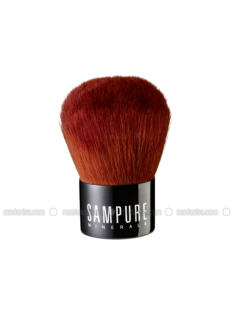 Professional Vegan Kabuki Brush - Sampure Mınerals