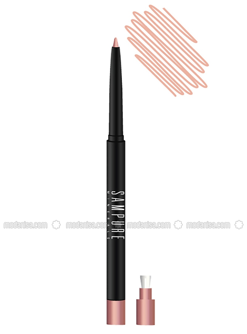 Retractable Eyeliner Soft Cream - Sampure Mınerals