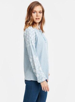 Bluz - Mavi - LC WAIKIKI Ürün Resmi