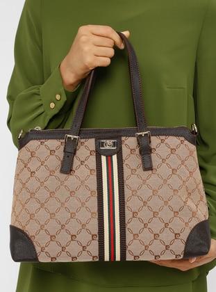 Brown - Shoulder Bags - Pierre Cardin