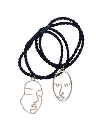 Black – Golden Tone – Buckle – Simplicty