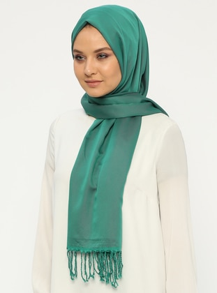 Green - Fuchsia - Two-way - Plain - Shawl