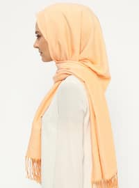 Yellow - Plain - Shawl