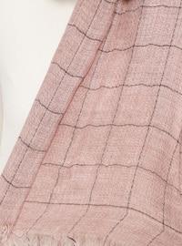 Powder - Striped - Cotton - Shawl
