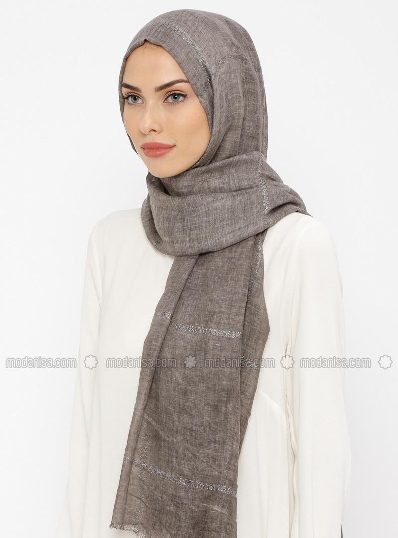 Minc - Striped - Cotton - Shawl