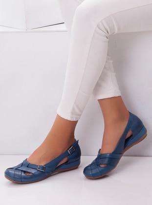 Blue - Casual - Shoes - Deripabuç
