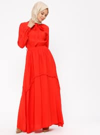 Coral - Polo neck - Fully Lined - Dresses