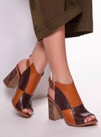 Brown - Tan - Sandal - Sandal