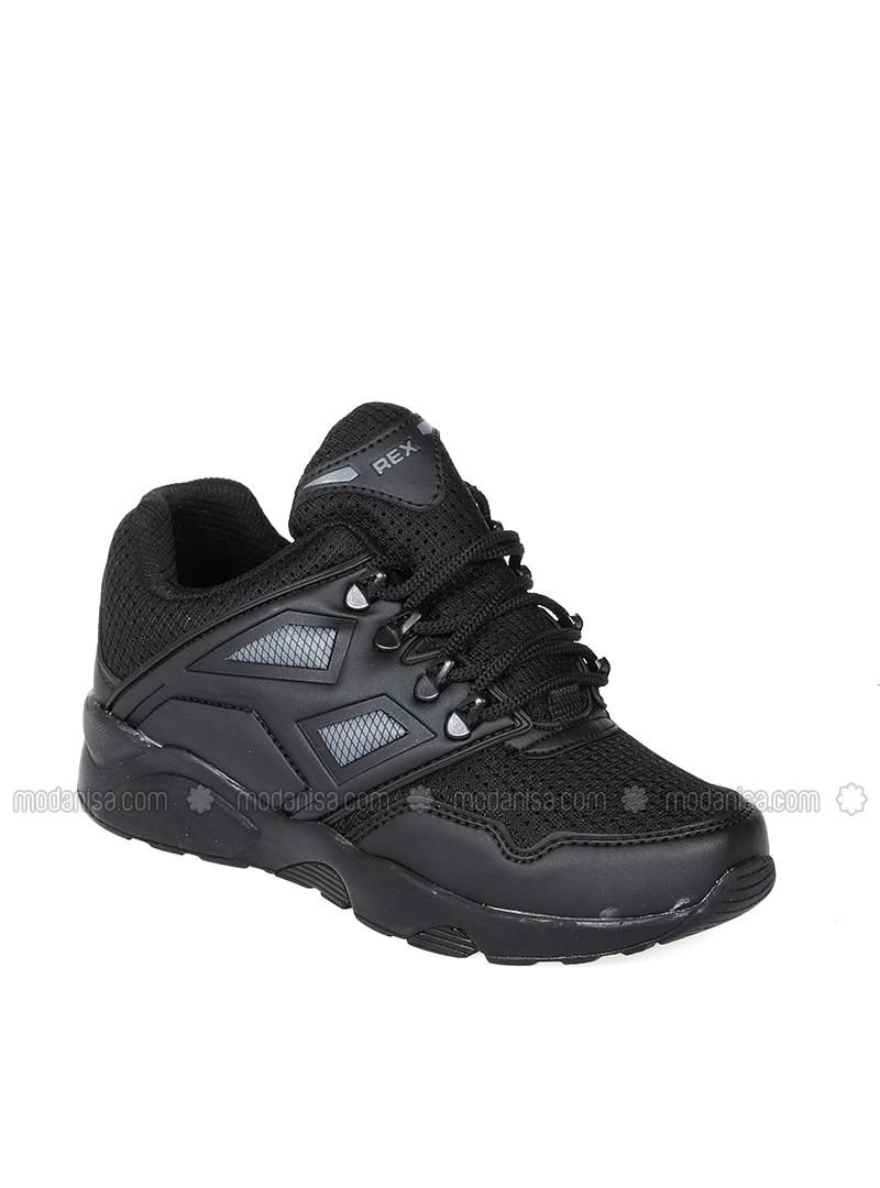 Black - Sport - Shoes
