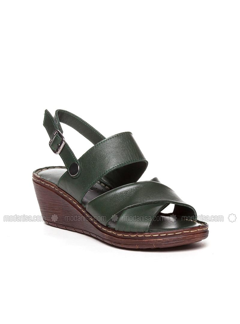 Khaki - Sandal - Sandal