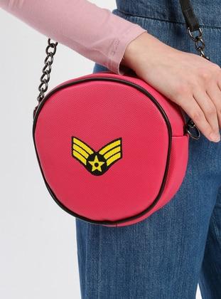 Pink - Fuchsia - Shoulder Bags