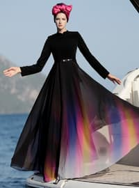 Black - Multi - Crew neck - Fully Lined - Black - Multi - Crew neck - Fully Lined - Black - Multi - Crew neck - Fully Lined - Dresses