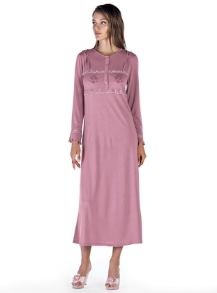 Dusty Rose – Crew Neck – Nightdress – Artis Collection