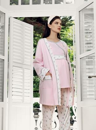 Pink - Morning Robe - Artış Collection