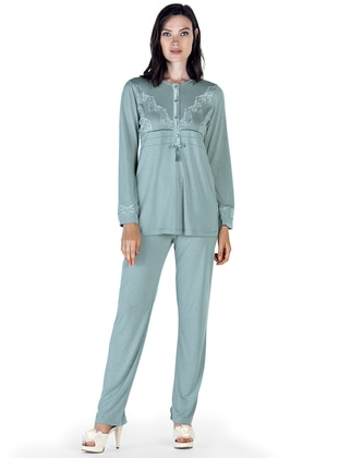 Green Almond – Crew Neck – Pyjama – Artis Collection