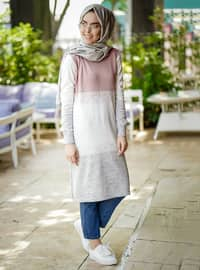 Powder - Multi - Crew neck - Tunic