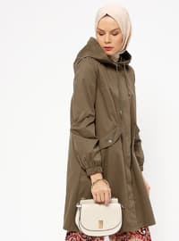 Khaki - Half Lined - Trench Coat