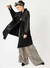 Black - Plus Size Jacket