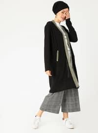 Black - Ecru - Unlined - Suit