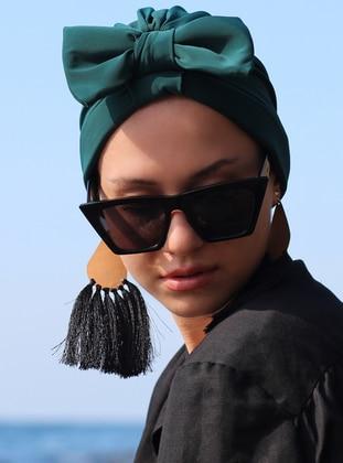 Emerald - Plain - Bonnet