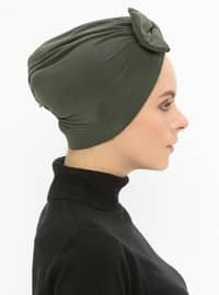 Khaki - Plain - Bonnet