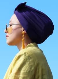 Purple - Plain - Bonnet