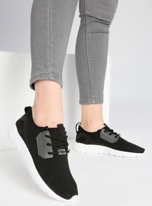 Spor Ayakkabı - Siyah - Letoon Ürün Resmi